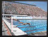 Poštovní známka Kongo 1987 LOH, plavání Mi# Block 41