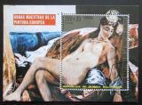 Poštovní známka Rovníková Guinea 1973 Akty, Delacroix Mi# Block 74