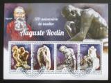 Poštovní známky Guinea-Bissau 2015 Sochy, Auguste Rodin Mi# 7629-32 Kat 14€