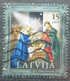 Poštovní známka Lotyšsko 2003 Vánoce Mi# 602