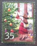 Poštovní známka Lotyšsko 2010 Vánoce Mi# 799