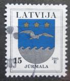 Poštovní známka Lotyšsko 2005 Znak Jurmala Mi# 522 IV