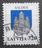 Poštovní známka Lotyšsko 2004 Znak Saldus Mi# 606