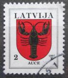 Poštovní známka Lotyšsko 1997 Znak Auce Mi# 421 A II