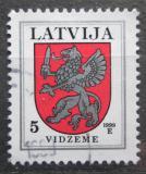 Poštovní známka Lotyšsko 1999 Znak Vidzeme Mi# 373 C V