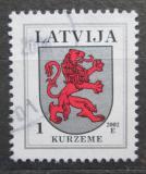 Poštovní známka Lotyšsko 2002 Znak Kurzeme Mi# 371 C VII