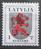 Poštovní známka Lotyšsko 2007 Znak Kurzeme Mi# 371 D X