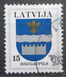 Poštovní známka Lotyšsko 2000 Znak Daugavpils Mi# 521 I