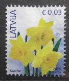 Poštovní známka Lotyšsko 2016 Narcisy Mi# 882 II
