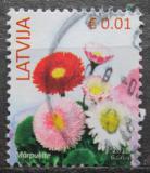 Poštovní známka Lotyšsko 2016 Sedmikrásky Mi# 899 III