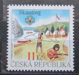 Poštovní známka Česká republika 2007 Evropa CEPT, skauting Mi# 516
