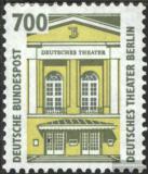 Poštovní známka Německo 1993 Divadlo v Berlíně Mi# 1691 Kat 8€