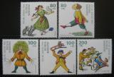 Poštovní známky Německo 1994 Postavy z dětské knihy Mi# 1726-30 Kat 15€