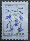 Poštovní známka Argentina 1984 Žakaranda mimózolistá Mi# 1637