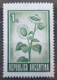 Poštovní známka Argentina 1971 Slunečnice Mi# 1094