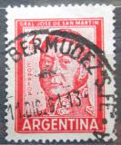 Poštovní známka Argentina 1961 Generál Jose de San Martín Mi# 765