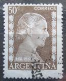 Poštovní známka Argentina 1952 Evita Perón Mi# 598