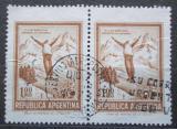 Poštovní známky Argentina 1971 Skoky na lyžích pár Mi# 1099