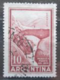 Poštovní známka Argentina 1960 Most Inků Mendoza Mi# 704