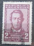 Poštovní známka Argentina 1957 Esteban Echeverria, spisovatel Mi# 661