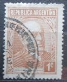 Poštovní známka Argentina 1935 Prezident Domingo F. Sarmiento Mi# 400