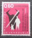 Poštovní známka Venezuela 1961 Sčítání lidu Mi# 1401