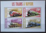 Poštovní známky Niger 2013 Parní lokomotivy Mi# 2303-06 Kat 12€