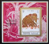 Poštovní známka Manáma 1971 Mamut Mi# Block 135 A Kat 8€