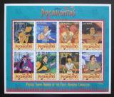 Poštovní známky Guyana 1995 Disney, Pocahontas Mi# 5174-81