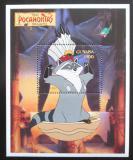 Poštovní známka Guyana 1995 Disney, Pocahontas Mi# Block 462