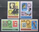 Poštovní známky Tanzánie 1980 Rowland Hill Mi# 141-44