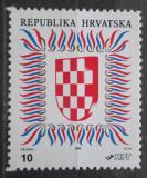 Poštovní známka Chorvatsko 1992 Státní znak Mi# 186