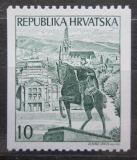 Poštovní známka Chorvatsko 1992 Socha krále Tomislava Mi# 197