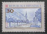 Poštovní známka Chorvatsko 1992 Ulice v Gospiči Mi# 198
