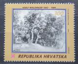 Poštovní známka Chorvatsko 1993 Umění, Adolf Waldinger Mi# 247