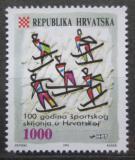 Poštovní známka Chorvatsko 1993 Organizované lyžování, 100. výročí Mi# 263