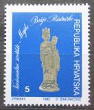 Poštovní známka Chorvatsko 1992 Madona, daňová Mi# 23