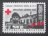 Poštovní známka Chorvatsko 1993 Červený kříž, daňová Mi# 26