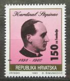 Poštovní známka Chorvatsko 1993 Kardinál Stepinac, daňová Mi# 28