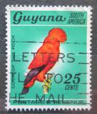 Poštovní známka Guyana 1968 Skalňák oranžový Mi# 309