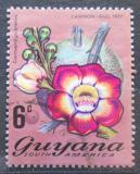 Poštovní známka Guyana 1971 Couroupita guianensis Mi# 399