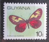 Poštovní známka Guyana 1978 Archonias bellona Mi# 543