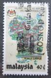 Poštovní známka Malajsie 1984 Letecký pohled na Kuala Lumpur Mi# 276