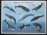 Poštovní známky Gambie 1995 Velryby Mi# 2252-60 Kat 10€