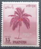 Poštovní známka Pákistán 1958 Kokosovník ořechoplodý Mi# 95 Kat 7.50€
