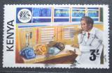 Poštovní známka Keňa 1976 Ovládací panel u zpráv Mi# 57