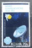 Poštovní známka Keňa 1983 Pozemní satelit Mi# 263