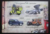 Poštovní známky Burundi 2012 Přeprava pošty neperf. Mi# 2913-16 B