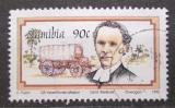 Poštovní známka Namíbie 1995 Karl E. A. Weikkolin a vůz Mi# 796