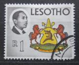 Poštovní známka Lesotho 1967 Státní znak Mi# 35